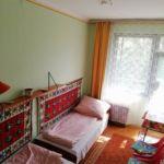 Kertre néző balkonos kétágyas szoba