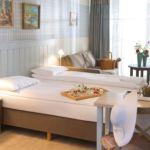 Emeleti földszinti franciaágyas szoba (pótágyazható)