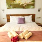 Apartmán so sprchou s vlastnou kuchyňou s manželskou posteľou s 1 spálňou (s možnosťou prístelky)