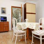 Apartament cu aer conditionat cu vedere spre mare cu 1 camera pentru 3 pers. AS-1042-a