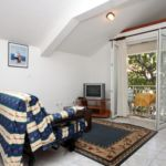 Légkondicionált erkélyes 4 fős apartman 1 hálótérrel A-6658-b
