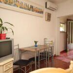 Apartman s klimatizací s terasou s manželskou postelí s 1 ložnicí AS-7756-a