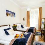 Apartament 8-osobowy na parterze z klimatyzacją z 3 pomieszczeniami sypialnianymi