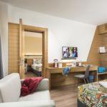 Emeleti Családi négyágyas szoba (pótágyazható)