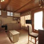 Apartament design cu gradina cu 1 camera pentru 2 pers.