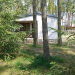 Domek letniskowy 4-osobowy z widokiem na las z widokiem na jezioro