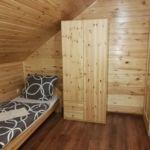 Erdőre néző emeleti négyágyas szoba