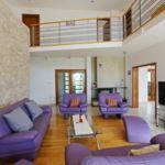 Apartament cu aer conditionat cu vedere spre mare cu 6 camere pentru 16 pers. K-15336