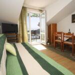 Apartman s klimatizací pro 3 os. s 1 ložnicí s výhledem na moře A-15380-d