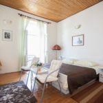 Apartament cu aer conditionat cu vedere spre mare cu 1 camera pentru 2 pers. A-15424-b