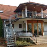 Légkondicionált teraszos 10 fős apartman 4 hálótérrel (pótágyazható)
