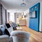 Apartament familial(a) cu balcon cu 2 camere pentru 4 pers.