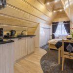Apartman s klimatizací pro 4 os. s 1 ložnicí s výhledem na hory