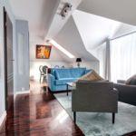 Apartament lux cu balcon cu 2 camere pentru 4 pers.
