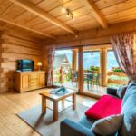 Apartman s terasou pro 4 os. se 2 ložnicemi s výhledem na hory