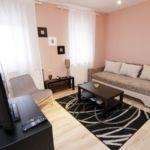Földszintes Studio 2 fős apartman 1 hálótérrel (pótágyazható)