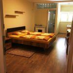 Apartman s klimatizací s manželskou postelí s 1 ložnicí s výhledem na park