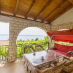 Apartament 5-osobowy z tarasem z widokiem na morze z 3 pomieszczeniami sypialnianymi (możliwa dostawka)