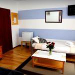 Balkon Sa kupaonicom apartman za 5 osoba(e) sa 2 spavaće(om) sobe(om)