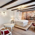 Deluxe Grand franciaágyas szoba