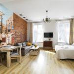 Apartament 4-osobowy Studio z własną kuchnią z 1 pomieszczeniem sypialnianym