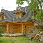 Domek drewniany 8-osobowy cały dom z widokiem na góry