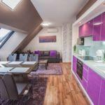Tetőtéri Exclusive 2 fős apartman 1 hálótérrel (pótágyazható)