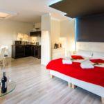 Apartament 2-osobowy Romantyczny Deluxe z 1 pomieszczeniem sypialnianym (możliwa dostawka)