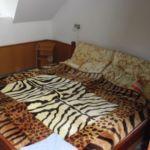 Camera dubla la etaj cu vedere spre padure (se poate solicita pat suplimentar)