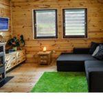 6 fős faház (pótágyazható)