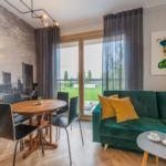 Komfort Apartman s balkónem pro 4 os. se 2 ložnicemi