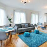 Apartament 6-osobowy Przyjazny podróżom rodzinnym z widokiem na miasto