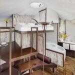 Galériás  teraszos 2 fős bungalow
