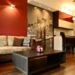 Apartament standard la etaj cu 2 camere pentru 4 pers.