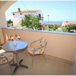 Pogled na more Klimatizirano apartman za 4 osoba(e) sa 1 spavaće(om) sobe(om)