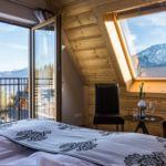 Apartament 4-osobowy z widokiem na góry z 2 pomieszczeniami sypialnianymi