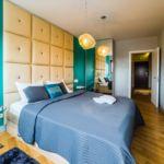 Apartament deluxe cu 2 camere pentru 4 pers.