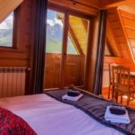 Pogled na planine Balkon soba sa 4 kreveta(om) (za 4 osoba(e))
