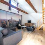 Galériás  Lux 4 fős apartman 2 hálótérrel