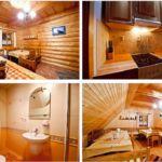 Domek drewniany 17-osobowy  (możliwa dostawka)