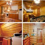 Domek drewniany 15-osobowy  (możliwa dostawka)