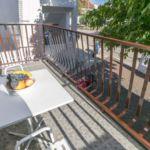 Apartament la etaj cu vedere spre gradina cu 2 camere pentru 4 pers.