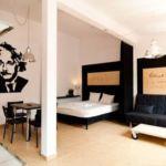 Apartament 2-osobowy z balkonem z własną kuchnią z 1 pomieszczeniem sypialnianym