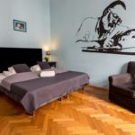 Apartament 2-osobowy z łazienką z aneksem kuchennym z 1 pomieszczeniem sypialnianym