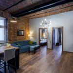 Apartament cu grup sanitar cu 3 camere pentru 6 pers.