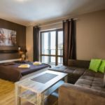 Apartament standard sofia 5 cu 1 camera pentru 2 pers. (se poate solicita pat suplimentar)