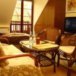 Apartament 4-osobowy na piętrze Komfort z 1 pomieszczeniem sypialnianym