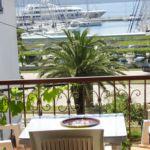 3-Zimmer-Apartment für 5 Personen mit Balkon und Aussicht auf das Meer