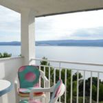 Sea View 1-Room Balcony Apartment for 3 Persons