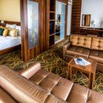 Rezydencja pokój 2-osobowy z 1 pomieszczeniem sypialnianym (możliwa dostawka)